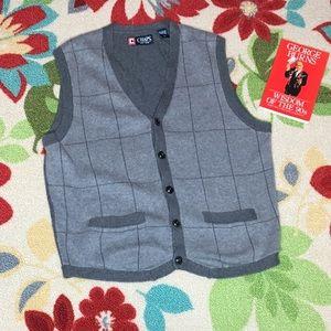 EUC ⏳CHAPS Sweater Vest👍🏻